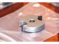 Router Cutter / Groover Bit 10mm Kerf for an 8mm Arbour