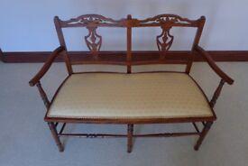 Edwardian Double Saloon Chair