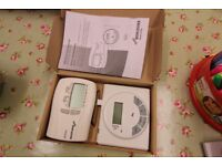 BNIB Genuine Worcester Bosch DT10RF wireless central heating digistat programmable thermostat