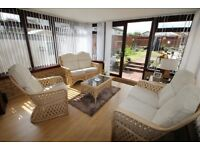 Conservatory/Sun Room Wicker Furniture Set