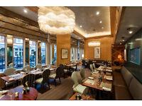 Full Time Waiter/Waitress – Michelin Star restaurant – Central London - Immediate start
