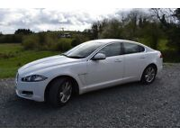 Jaguar XF 2012 White Automatic