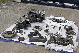 Austin A-Series A+ A-Plus 998cc Mini Engine Cylinder Head - for restoration/spares or repair