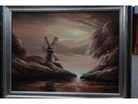 Original oil painting by David James.