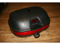 Homcom Large ~40L Motorbike Scooter Top Box Tail