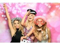 Photo Booth & Magic Selfie Mirror For Hire from £140 with unlimited prints.