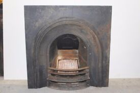 Arched Fire Insert For Sale, Lovely Old Piece! * Requires Coal Grill * £175 #02