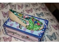 Irregular Choice Flat Ladies Shoes size 43 --8.1/2