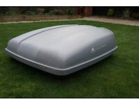 ROOF BOX, Lockable, to fit on roof bars