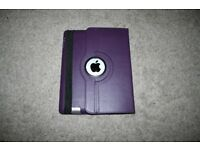 iPad 1 faulty spares/repairs with purple leather case
