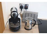 Nespresso Essenza by Magimix M100A Coffee Machine with Aeroccino