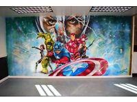 Hand Painted Murals for Children