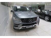 MERCEDES-BENZ M CLASS 2.1 ML250 CDI BlueTEC AMG Sport 7G-Tronic Plus 4x4 5dr Auto (silver) 2013