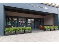 Full & part time bar staff required for busy North London brew pub