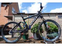 "2012 Scott Genius 50 Full Suspension Mountain Enduro Bike 19"" Large Frame - Full Lockout - 150mm"