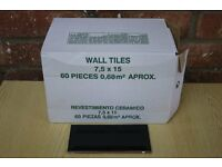 Two Boxes of Gloss Bevelled Edge Wall Tiles