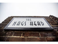 Full Time Chef - Up to £8.50 per hour - Live In/ Out - Nag's Head - Bishops Stortford, Hertfordshire
