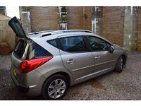 Peugeot 207 SW SPORT Long MOT 2008 1,6 Petrol 120 ps PANORAMIC ROOF