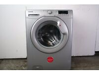 Silver 7kg Hoover Washing Machine, 6mo Warranty, Delivery and Install Available