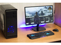 Phoenix Hero Gaming Desktop PC Quad Core 8GB Ram Nvidia GTX HD Graphics FREE POSTAGE & WARRANTY