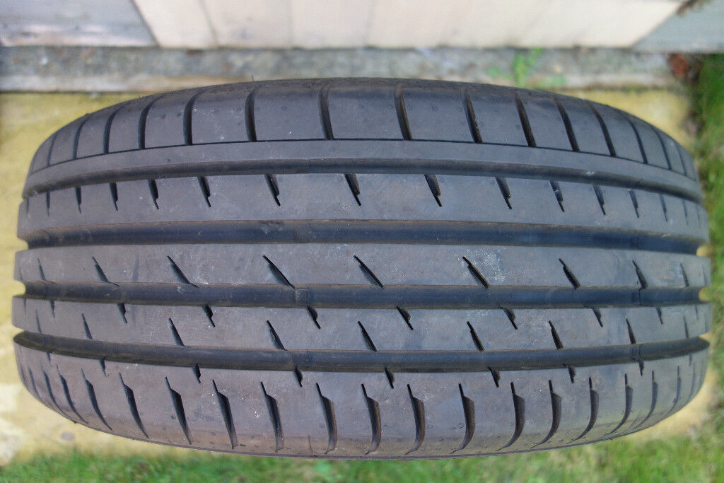 Continental tyre 205/45/17 8mm