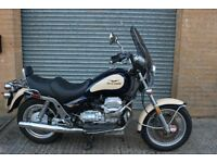 Moto Guzzi California 1100 EV Blue and Cream 810 miles New Tyres New Fillters,