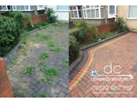 Patio Cleaning and Driveway Cleaning Jetwashing Builder Clean-up, Concrete Clean-up in East London