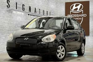 2010 Hyundai Accent L 4 PORTES AUTOMATIQUE