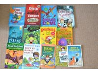 Children's books - mixed lot dinosaur, henry, football etc