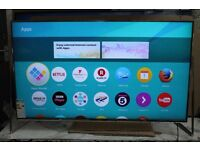 PANASONIC VIERA TX50DX802B 50 inch 4K Ultra HD HDR 3D Smart LED TV with Soundbar