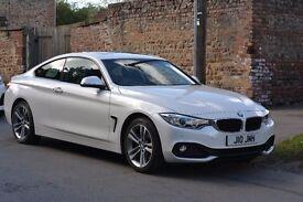 BMW 4 Series Coupé 420 Sport - 2014, Manual, White, Diesel, X-Drive (4x4)