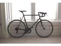 1980s Raleigh Record Sprint Reynolds 501 Vintage Bike + Kryptonite lock + lights + mudguard