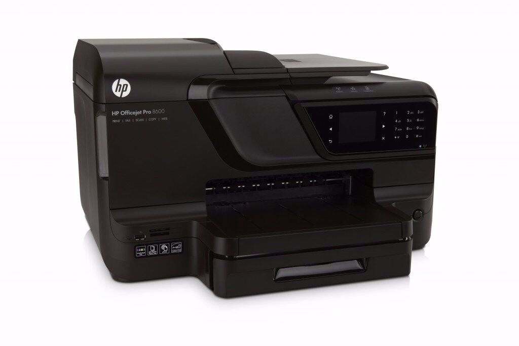 HP Officejet Pro 8600 printer/scanner/fax/wireless in a very good condition + 10 cartridges