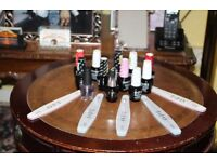 12 Bottles of OPI Gell ( Brand New ) C/W OPI Nail Boards
