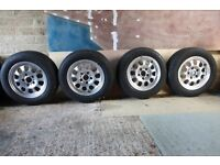 4 x BMW Alloy Wheels with Tyres