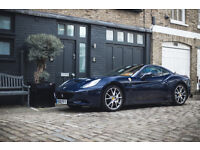 FERRARI CALIFORNIA - FULL EXTRAS - LOW MILEAGE - IMMACULATE CONDITION - ONE OWNER