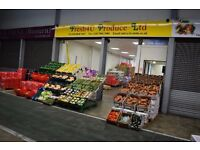 3.5ton Delivery Driver for Fruit and Vegetable Company
