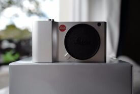 Leica T Camera Typ 701 T Aluminium Body Silver Complete with charger not black £550