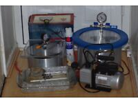 BHO Extraction Kit - Vacuum Pump, Vacuum chamber and EXTRAS for sale