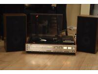 SONY DRECTDRIVE RECORDPLAYER/CASSETTE/RADIO 250W CANBE SEENWORKING