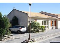 Villa to rent in Fitou south west France.