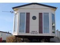 CARAVAN FOR RENT - NEWTON HALL - BLACKPOOL - 6 BERTH - DATES - AVAILABLE