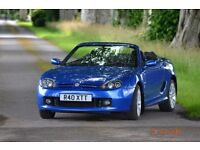 MG TF 2002 convertible /cabriolet