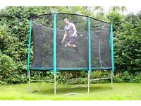 Skyhigh Trampoline Oval Shape 6ft across and 12ft long.