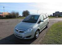 VAUXHALL ZAFIRA 1.9 EXCLUSIV CDTI 7 SEATER,2009,Alloys,A/Con,6 Speed,Full Service History,Very Clean