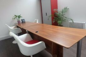 Small office of your own in newly refurbed Mews property (W1) to share with media agency