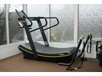 Technogym Skillmill curved Treadmill with Accessory pack