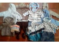 3-6 mths Boys Mothercare/Next/M&S Bundle or Separately priced in Exc Condition