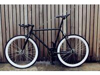 Special offer!!Steel Frame Single speed road bike track bike fixed gear racing fixie bicycle tt