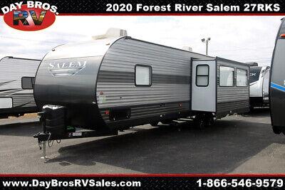20 Forest River Salem 27RKS Lite Travel Trailer Towable RV Camper Slide Sleeps 6